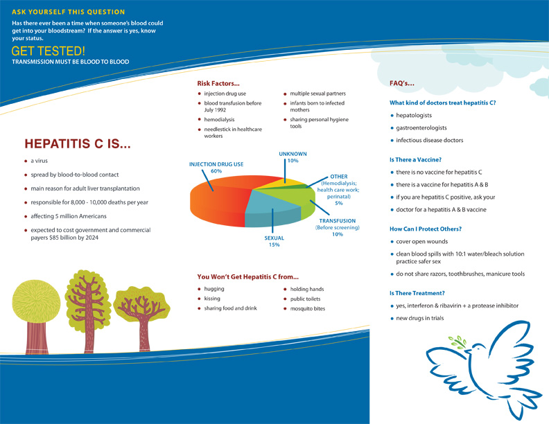 Facing Hepatitis C Brochure cover