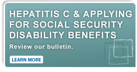 Hepatitis C & Applying for Social Security Benefits